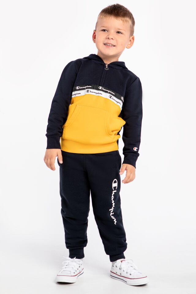 DZIECIĘCA Hooded Half Zip Sweatshirt 305805-BS501