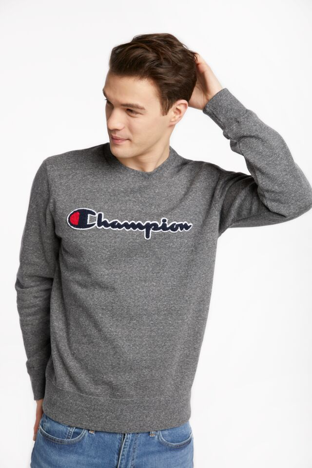 CREWNECK SWEATSHIRT EM516 DARK GREY