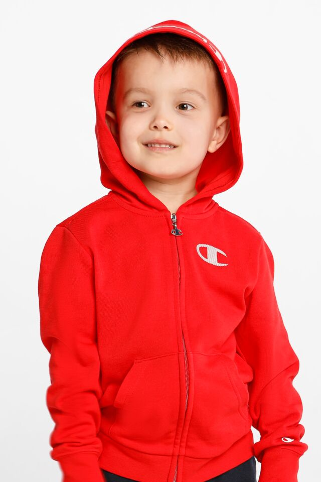 ZAPINANA NA ZAMEK Hooded Full Zip Sweatshirt 305164-RS046