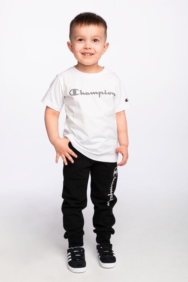 Z KRÓTKIM RĘKAWEM Crewneck T-Shirt 305169-WW001