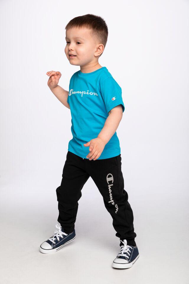 Z KRÓTKIM RĘKAWEM Crewneck T-Shirt 305169-BS070