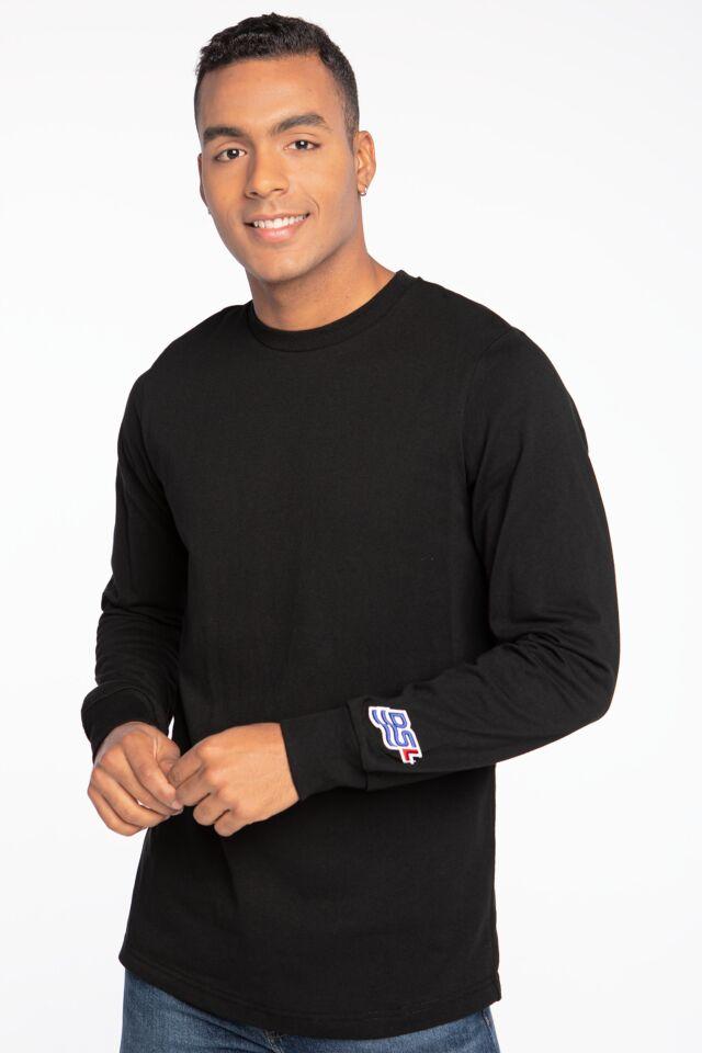 KOSZULKA Z DŁUGIM RĘKAWEM  T-shirts A03256 0QCAH-9XX