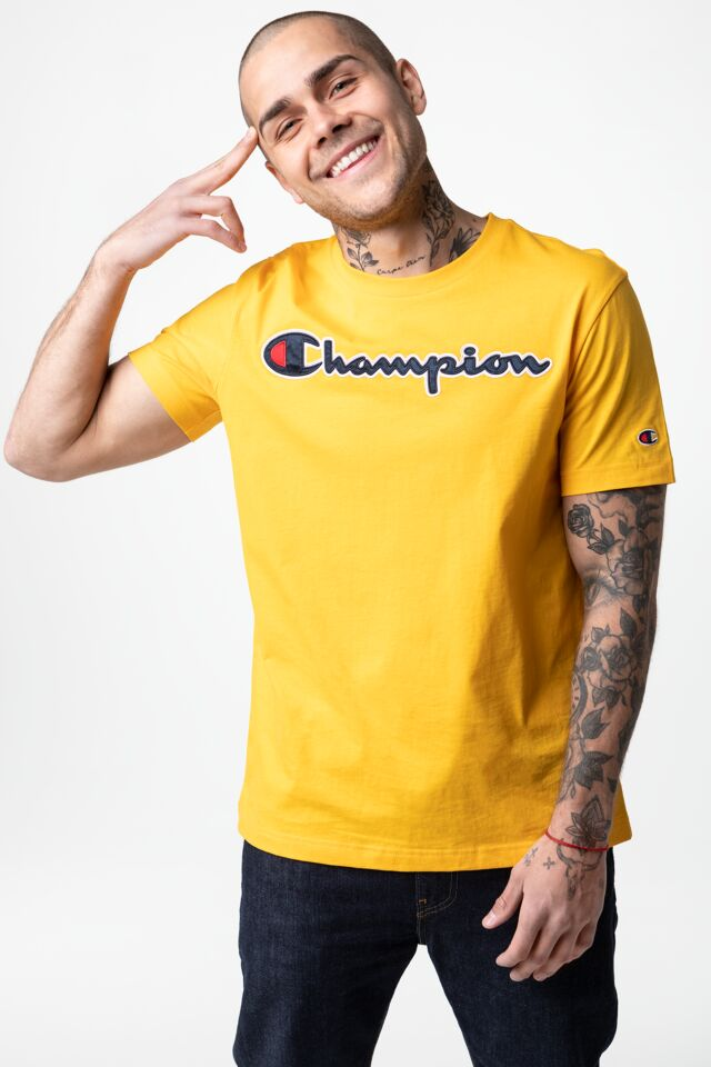 CREWNECK T-SHIRT YS022 YELLOW