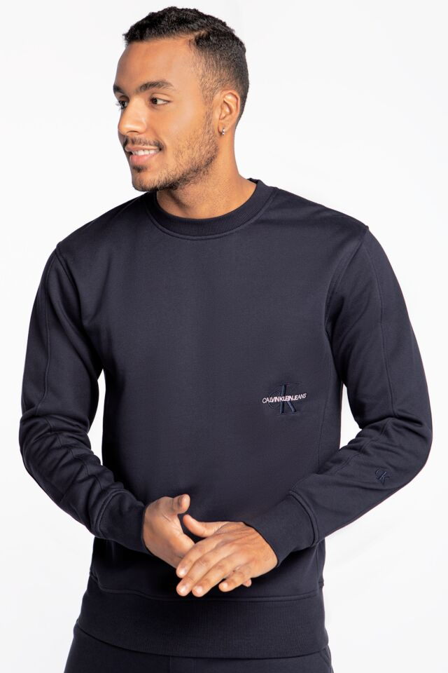 OFF PLACED ICONIC CREW NECK J30J318176CHW