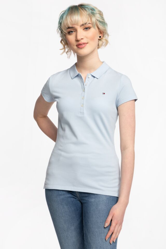 SHORT SLEEVE SLIM POLO WW0WW27947C1O