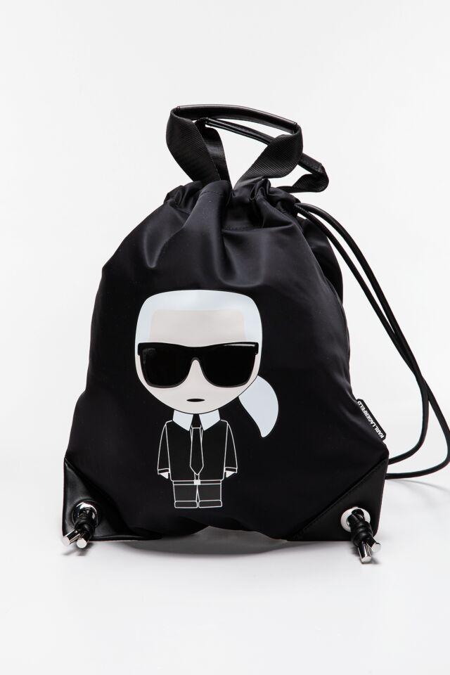 PLECAK WOREK Ikonik Nylon Flat Backpack 210W3188999-999