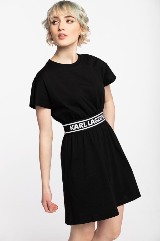 SUKIENKA Logo Tape T-Shirt Dress 211W1361999-999