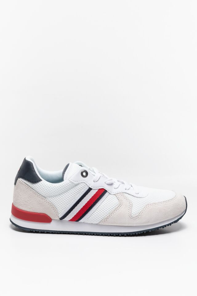 SNEAKERY ICONIC MATERIAL MIX RUNNER FM0FM034700GY