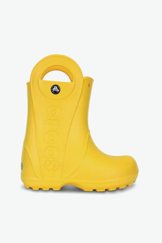 HANDLE RAIN BOOT KIDS 12803-730 YELLOW