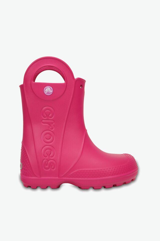 HANDLE RAIN BOOT KIDS 12803-6X0 CANDY PINK