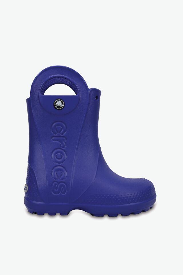 HANDLE RAIN BOOT KIDS 12803-4O5 CERULEAN BLUE