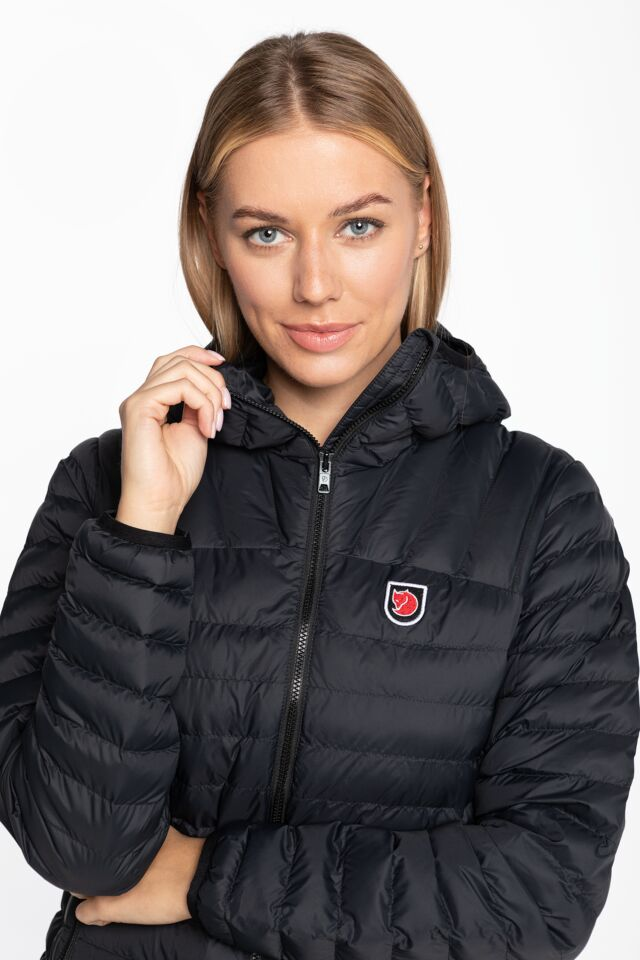 Expedition Lätt Hoodie W F86120-550 BLACK