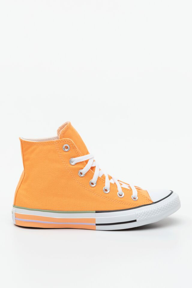 CHUCK TAYLOR ALL STAR HI 634 FUEL ORANGE/MOONSTONE VIOLET