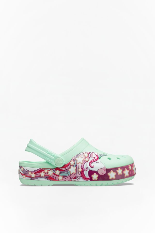 FUN LAB UNICORN BAND CLOG KIDS 3TI NEO MINT