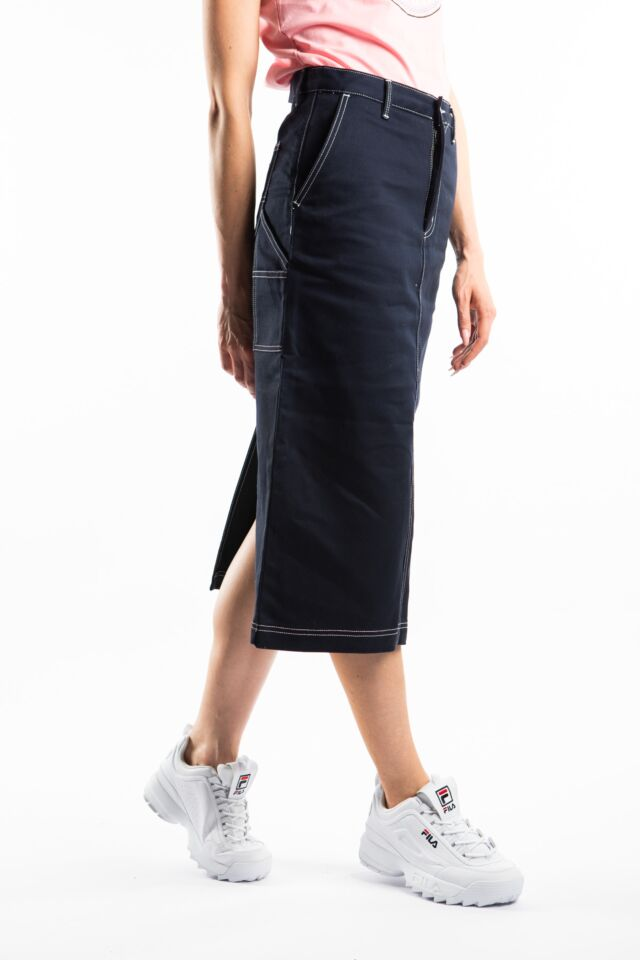 PIERCE SKIRT 1C01 DARK NAVY