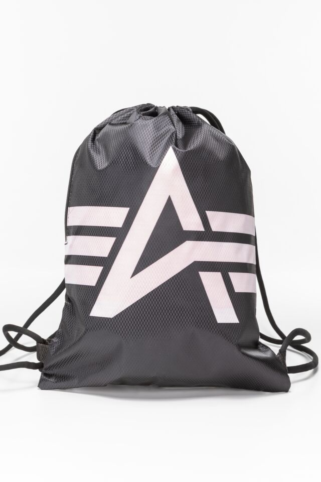 Basic Gym Bag 198903-03 BLACK/PINK