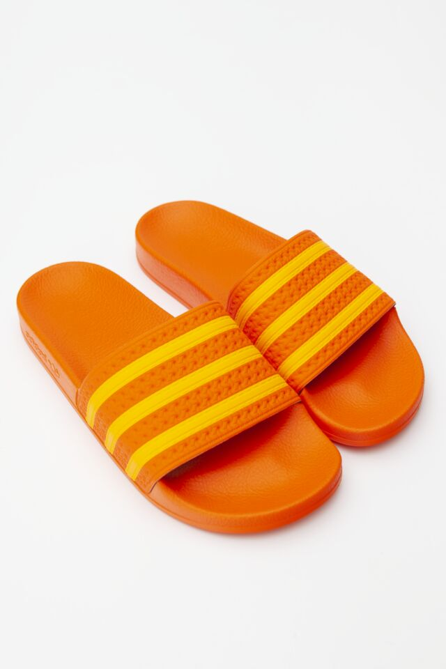 ADILETTE W 186 ORANGE/FLASH ORANGE/ORANGE