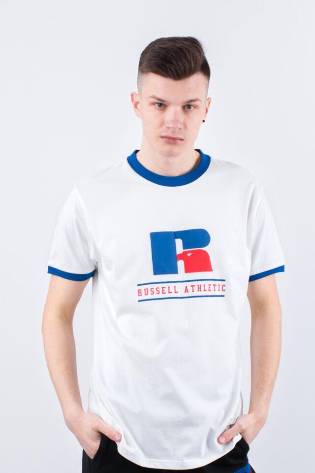 RINGER TEE 001 WHITE