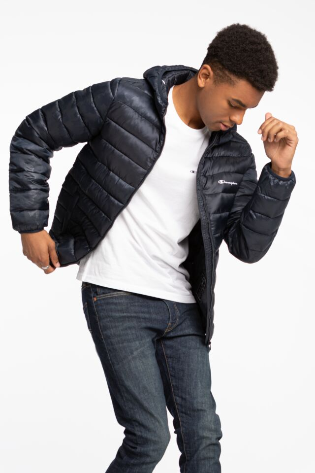 Hooded Jacket 214869-BL501 NAVY