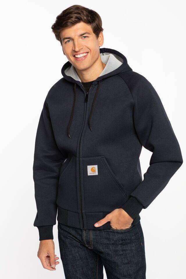 Car-Lux Hooded Jacket I018044-1C92 NAVY