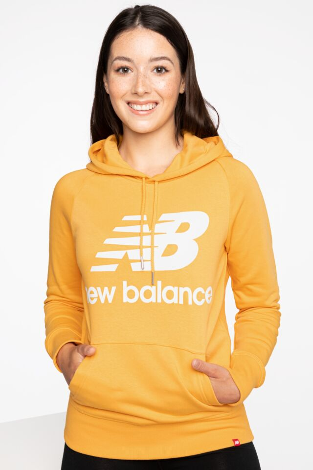 BLUZA ESSENTIALS PULLOVER HOODIE ASE 550 YELLOW