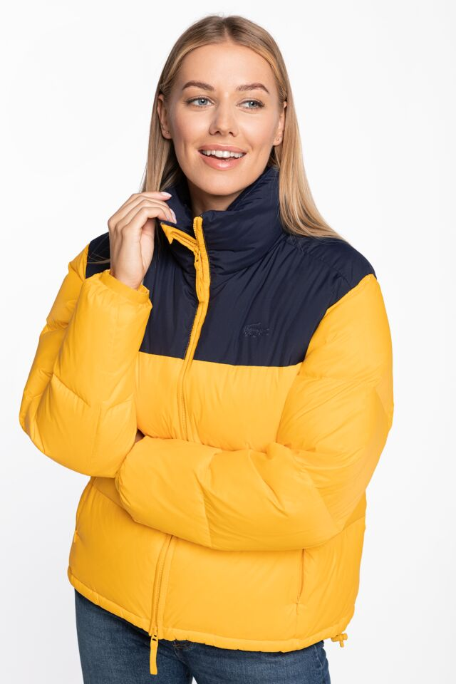 Women's Jacket BF2460-Z6D YELLOW/NAVY
