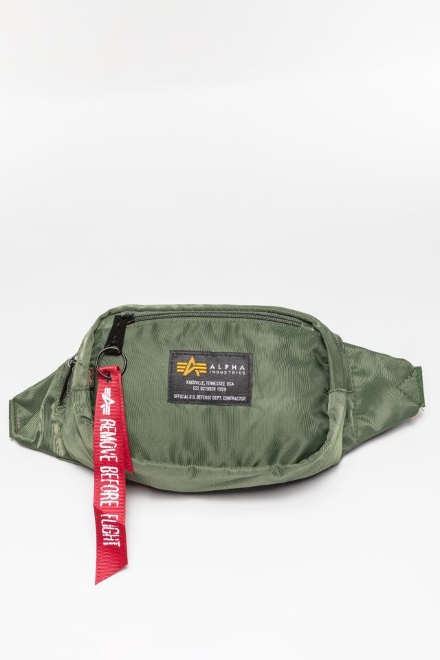Crew Waist Bag 923 DARK GREEN