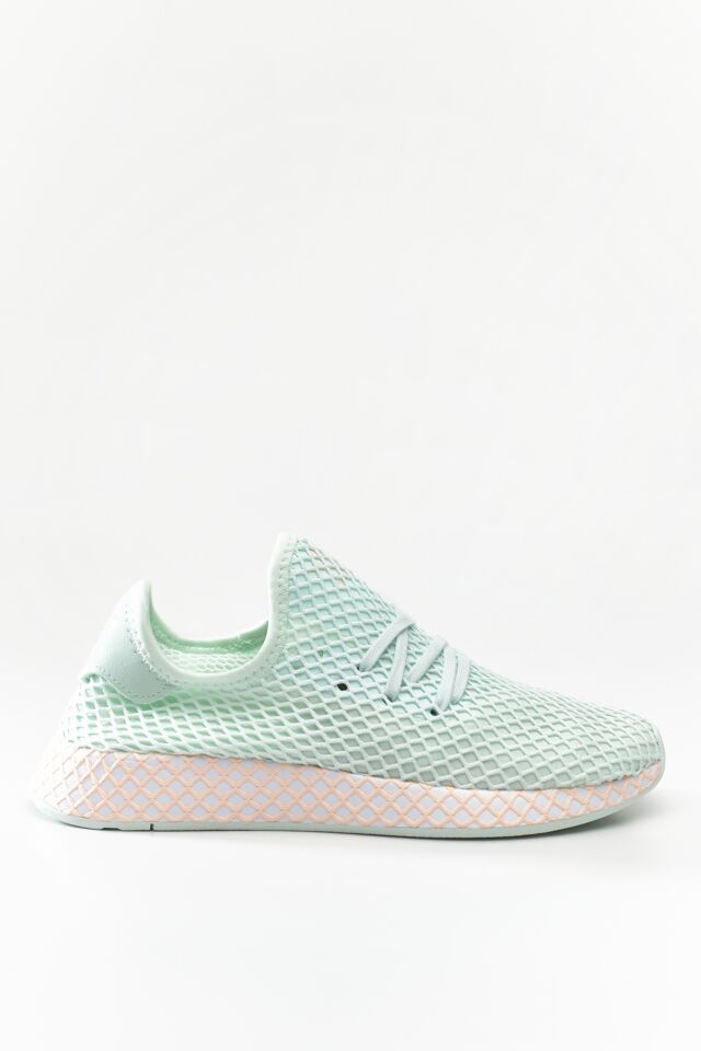DEERUPT RUNNER W TURQUOISE/FOOTWEAR WHITE/CLEAR ORANGE