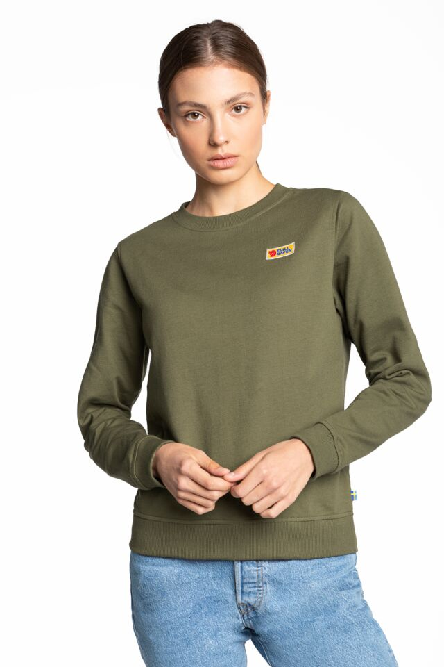 Vardag Sweater W 519 GREEN