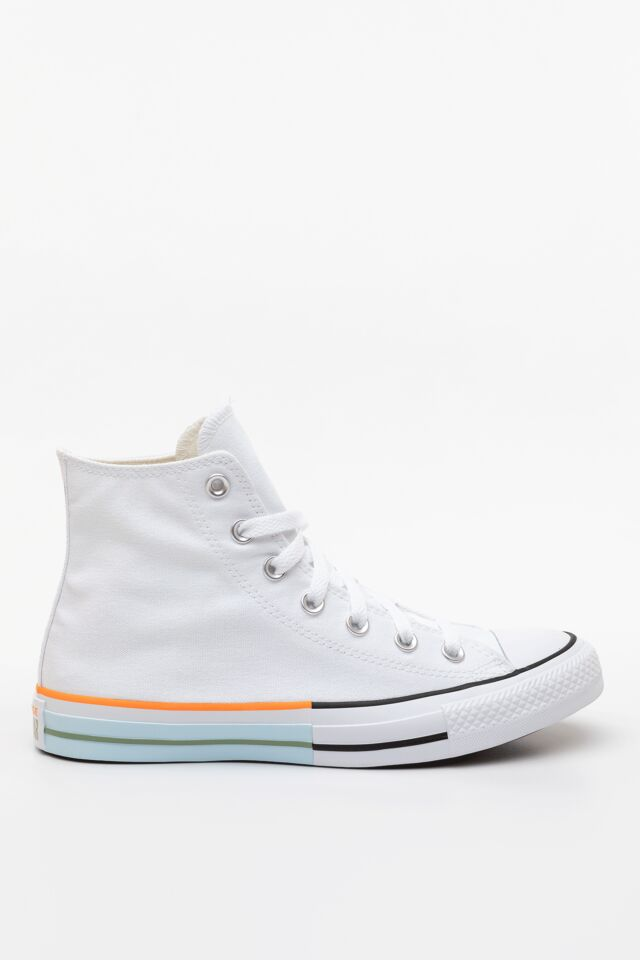 SUNBLOCKED CHUCK TAYLOR ALL STAR HI 751 WHITE/STREET SAGE/AGATE BLUE