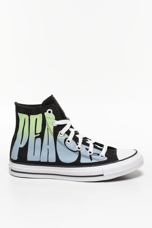 CHUCK TAYLOR PEACE 891 BLACK/LEMONGRASS/WHITE