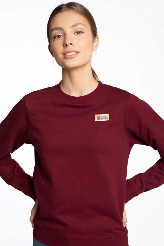 Vardag Sweater W 519 RED OAK