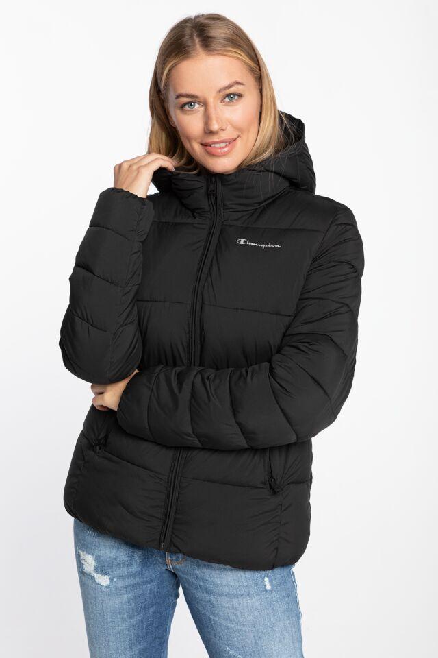 Hooded Polyfilled Jacket 113424-KK001 BLACK