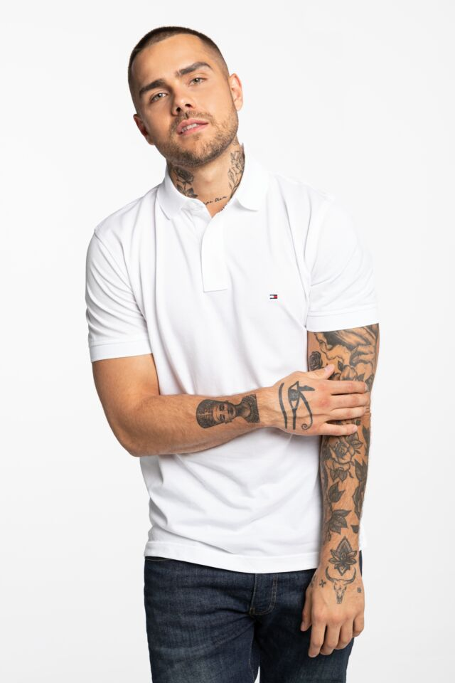 CORE TOMMY REGULAR POLO MW0MW04976-100 WHITE