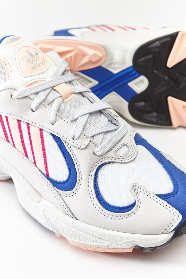 YUNG-1 CRYSTAL WHITE/CLEAR ORANGE/COLLEGIATE ROYAL