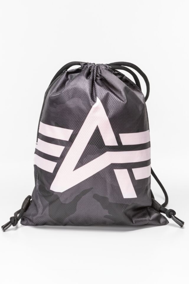 Basic Gym Bag 198903-125 BLACK/WHITE