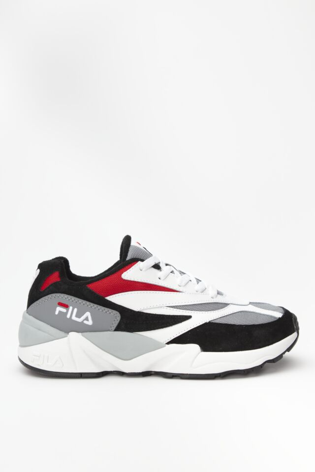 V94M LOW 008 BLACK/WHITE/FILA RED