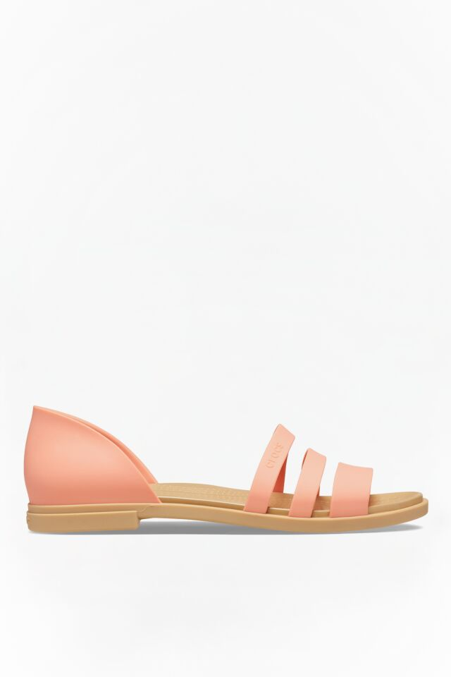 TULUM OPEN FLAT W 82R GRAPEFRUIT/TAN