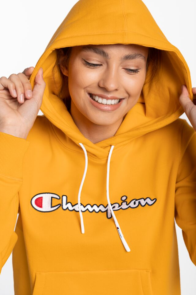 Hooded Sweatshirt 185 YELLOW