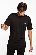 CHEST LOGO T-SHIRT 001-3-09-02-0001 BLACK