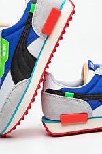 FUTURE RIDER RIDE ON 01 PUMA WHITE/HIGH RISE/DAZZ BLUE