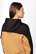 Hooded SWEATSHIRT 249 BLACK / YELLOW