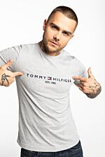 CORE TOMMY LOGO TEE MW0MW11465-501 GREY
