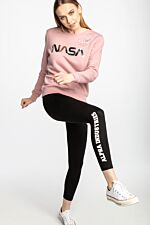 NASA PM Sweater Wmn 487 PINK/SILVER