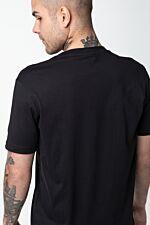 CREWNECK T-SHIRT KK001 BLACK