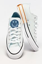 CHUCK TAYLOR ALL STAR OX 664 AGATE BLUE/COURT BLUE/WHITE