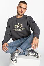 Basic Sweater 178302-136 GREYBLACK