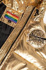 Hooded Puffer NASA Wmn 128007-145 GOLD