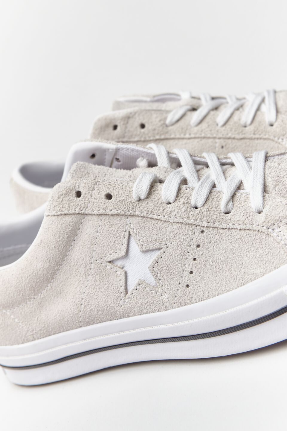 ONE STAR SUEDE WHITE