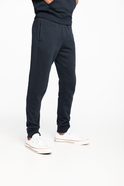 Rib Cuff Pants 214953-BS501 NAVY